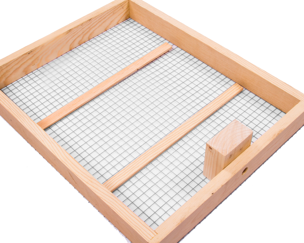 5 Frame Candy Board For Winter Bee Feeding